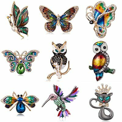 Butterfly Dragonfly Brooches Insect Brooch Pin Banquet Wedding Corsage Jewelry