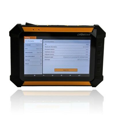 OBDSTAR X300 DP PAD Master Tablet Standard Configuration For All Key&BMW FEM/BDC