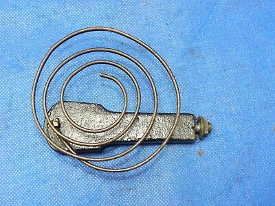 Antique Vintage Clock Coil Gong Wire Chime - Spring diameter 3""