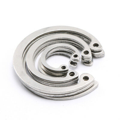 Internal Retaining Ring,Snap Rings for Bore,304 Stainless Steel,Φ10mm-Φ20mm