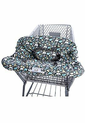 2-in-1 Shopping Cart Cover and High Chair Universal Fit Ultra Plush 100 Percent