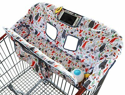 Shopping Cart Cover for Baby Or Toddler | 2-in-1 High Chair Universal Fit Boy