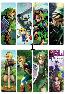 8pcs/set PVC Lesezeichen Bookmarks of  Anime The Legend of Zelda book mark