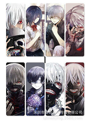 8pcs/set PVC Lesezeichen Bookmarks of  Anime Tokyo Ghoul book mark