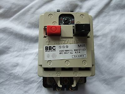 Bbc Manual Motor Protection Starter With Overload
