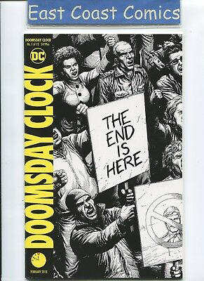 DOOMSDAY CLOCK #1 - 2nd PRINT SKETCH VARIANT - DC