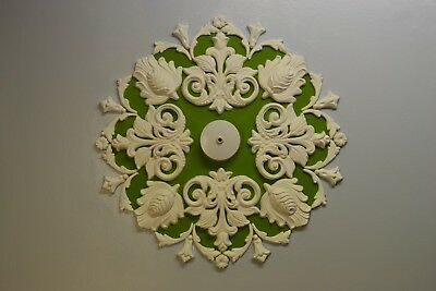 Plaster Ceiling Rose/ Design, Home Décor, plaster of Paris, Victorian Style