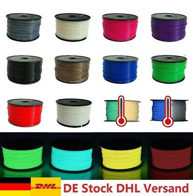 3D Drucker Printer Filament ABS PLA 1.75/3.0MM 1kg Spule Trommel Patrone Rolle