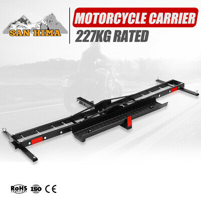 Motorcycle Rack Carrier For Car Rear Towbar 2inch Hitch Mount 227KG Max