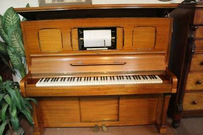 A Rare & Restored Antique Aeolian- Weber Duo Art Pianola - *Free Melb Delivery