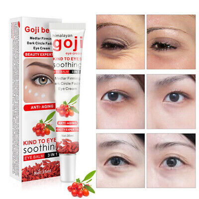 35g Goji Berry  Eye Cream Remove Eye Bags Wrinkles Moisturizing Tight Eye Care