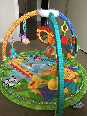 Fisher-Price Rainforest Friends Musical Gym. Excellent Condition.