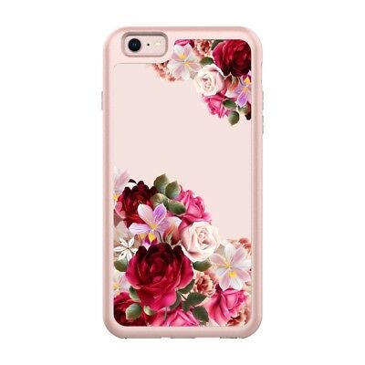 Girl Floral Clear TPU Soft Slim Flexible Cover Phone case for Apple iPhone A3V2