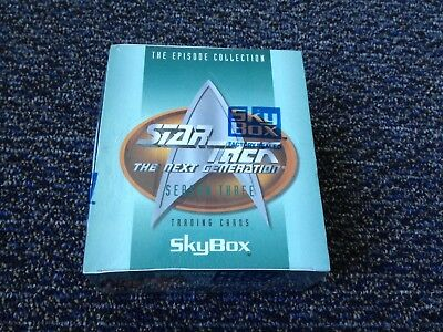 Star Trek The Next Generation Season 3 Trading Cards *FACTORY SEALED* box