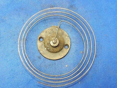 Antique Vintage Clock Coil Gong Bell Wire Chime - Spring diameter 4.5""