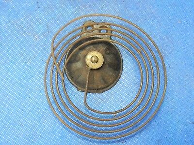 Antique Vintage Clock Coil Gong Bell Wire Chime - Spring diameter 4""