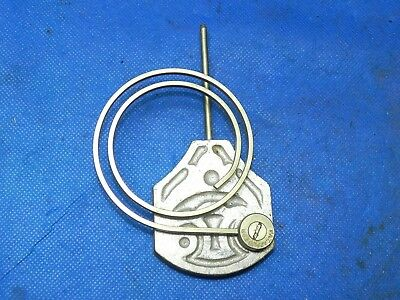 Antique Vintage Clock Coil Gong Bell Wire Chime - Spring diam. 2.75""