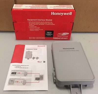 Honeywell Prestige 2-Wire Iaq Equipment Interface Module Thm5421R1021/u