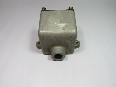Crouse Hinds ARE-36 Back Box for Receptacle Housing  USED