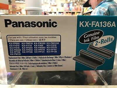 1-Roll Panasonic KX-FA136A Genuine Replacement