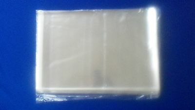 500 Sleeves Magazine Plastic Protectors Storage Bags Pack Self Seal