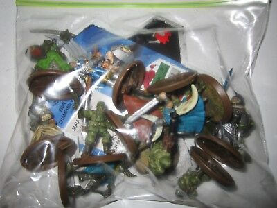 heroscape lot figures and green  hex