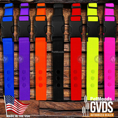 "GVDS Dog Collar Strap 1"" Replacement Strap for SportDOG In-Ground Fence SDF-R"