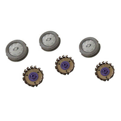 3x Replacement Shaver Heads For Philips Norelco HQ56 HQ55 HQ4 HQ3 Reflex 6863XL