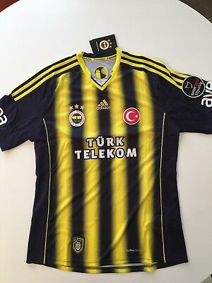Maglia shirt Fenerbahce Meireles no match worn player issue Chelsea Liverpool