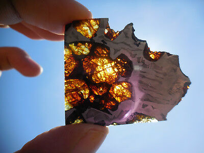 AFFORDABLE / STUNNING 15.2 gram ESQUEL PALLASITE METEORITE, HIGHLY Translucent