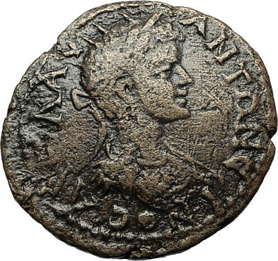 CARACALLA Authentic Ancient Genuine Odessos Thrace Roman Coin w DERZELAS i71059