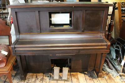 Great Sounding Vintage 'Concord' Pianola - Piano - Iron Frame