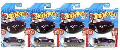 NISSAN SKYLINE GT-R R33 JDM First Edition 2018 Hot Wheels Anniversary Lot of 4