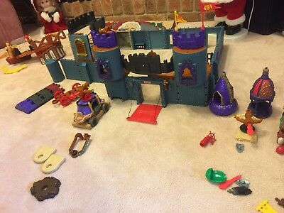Fisher Price Bulk Lot Imaginext Pirate Ships And Battle Castle