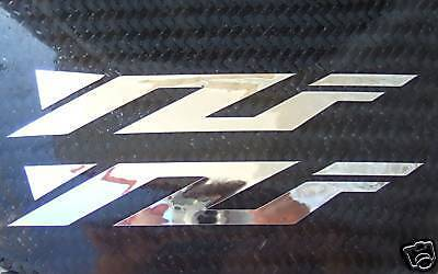 2 Chrome YZF R1 R6 R9 tank Decals Stickers Yamaha decal