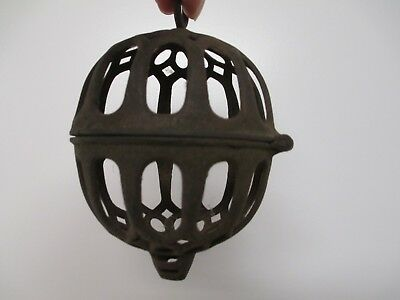 Primitive Old Antique Vtg Cast Iron General Country Store String Twine Holder