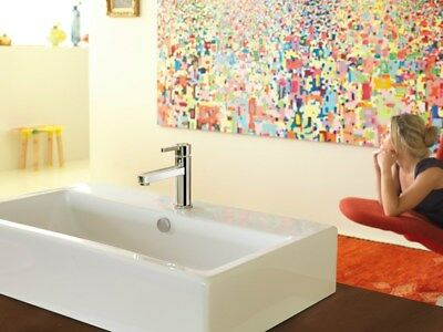 Newform Ergo 65810 Basin  Mixer Tap  with PW  Chrome  made in Italy