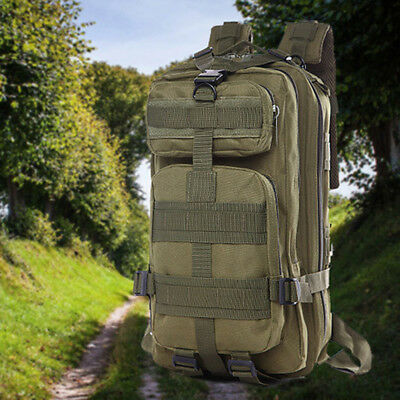 Mens Combat Military Backpack Rucksacks Tactical Camping Hiking Bags Outdoor US
