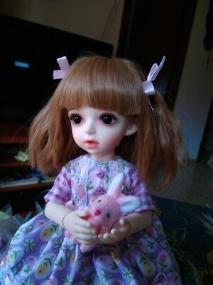 1/6 bjd doll beautiful girl dolls female free eyes with face make up resin