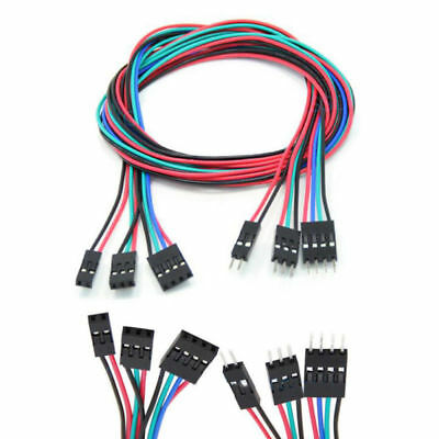 10pcs 70cm 2pin//3pin//4pin Jumper wire dupont cable for Arduino RepRap 3D Printer