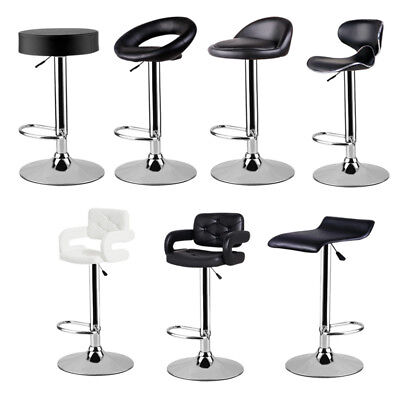 2PC Breakfast Bar Stool Swivel Kitchen Massage Stools 4 Types Gas Lift Chair