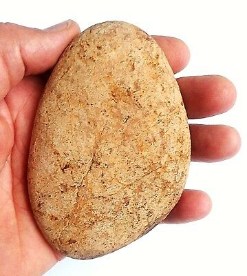 219 gr. Natural Flint Stone Hand Hammer Neanderthal for Flint-Knapping of tools