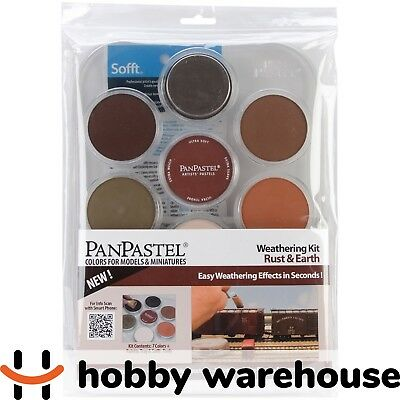 PanPastel Weathering Kit Rust and Earth