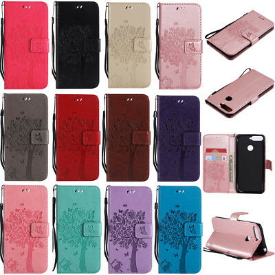 For Huawei Y9 2019/Y6 Y7 Y9 2018 Flip Magnetic Leather Case Stand Wallet Cover