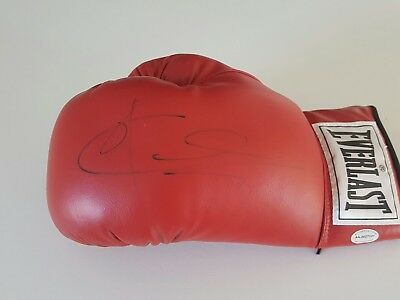Joe Calzaghe Personally Signed Everlast Boxing Glove Hall Of Famer Undefeated