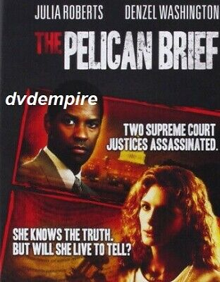 The Pelican Brief DVD New and Sealed Australia All Regions