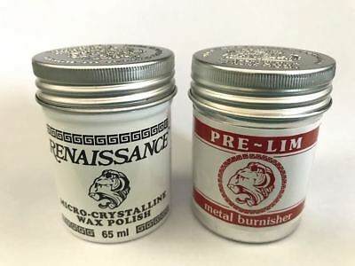 Renaissance Wax and Pre-Lim Twin Pack