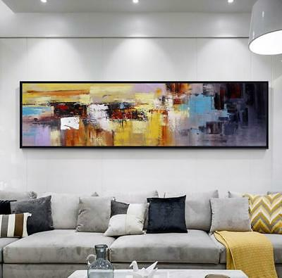 YA869 Large Modern Simple Decor abstract oil painting Hand-painted on canvas
