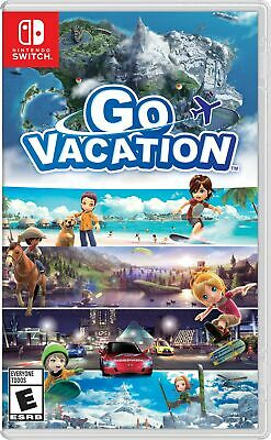 Bandai Namco Go Vacation (Eng/Jap Ver) For Nintendo Switch NS