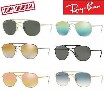 LUNETTES SOLAIRE RAY Ban THE MARSHAL - RB3648 - OR - NEUF - EUR 128 ... abd325df2adc